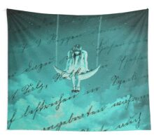 Hanging on Every Word Wall Tapestry