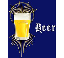 Beer Homage Photographic Print