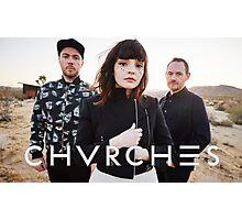 CHVRCHES Band Poster New Album Photographic Print