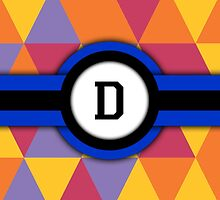 Monogram D by Bethany-Bailey