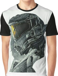 Halo Game Master Chief Illusions Most Popular Xbox ps Graphic T-Shirt