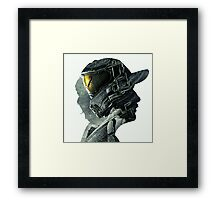 Halo Game Master Chief Illusions Most Popular Xbox ps Framed Print