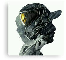 Halo Game Master Chief Illusions Most Popular Xbox ps Canvas Print
