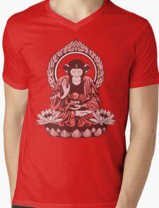 Zen Sapience Halftone Mens V-Neck T-Shirt