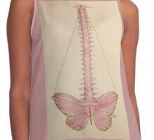 Pink Spine Contrast Tank