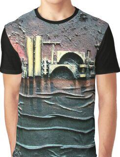 Industrial Port-part 2 by rafi talby Graphic T-Shirt