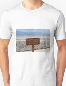 Bad Water Death Valley T-Shirt