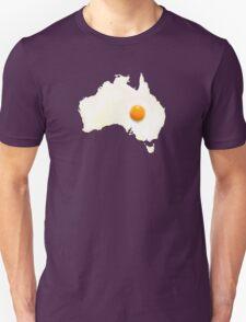 Fried Egg Cartography - Australia 2 Unisex T-Shirt