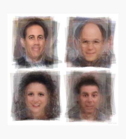 Seinfeld Characters Photographic Print