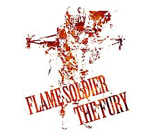Flame Soldier - The Fury Photographic Print