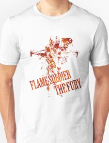 Flame Soldier - The Fury T-Shirt