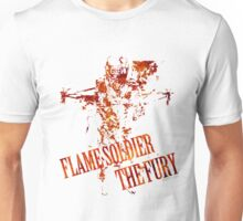Flame Soldier - The Fury Unisex T-Shirt