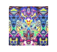 Abstract Pop Art Faces Scarf