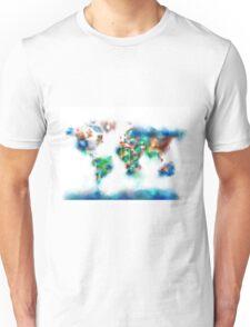 world map flags 6 Unisex T-Shirt