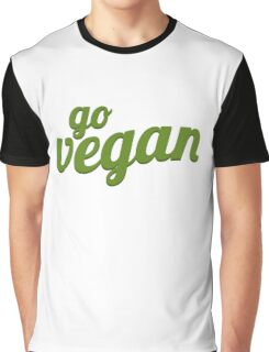GO VEGAN Graphic T-Shirt