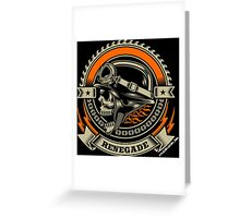 Renegade II by stlgirlygirl Greeting Card