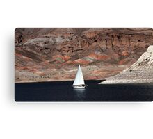 On Lake Mead Canvas Print