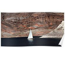 On Lake Mead Poster