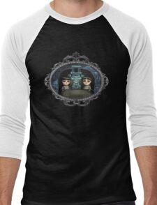Hitchhiking Ghost Men's Baseball ¾ T-Shirt