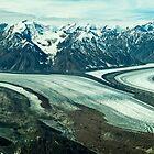 Kaskawulsh Glacier pan by Yukondick