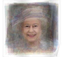 Queen Elizabeth II Portrait Poster