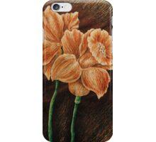 Orange Daffodils  iPhone Case/Skin