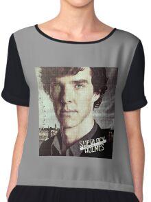 Sherlock Holmes Chiffon Top