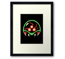 Metroid Framed Print