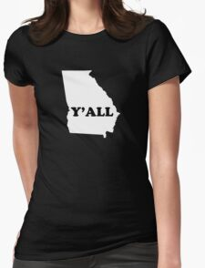 Georgia Yall Womens Fitted T-Shirt