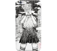 .fish girl. iPhone Case/Skin