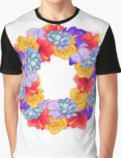 Ring of flowers Graphic T-Shirt