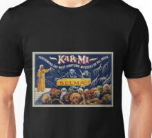 Performing Arts Posters Kar mi performing the most startling mystery of all India 3049 Unisex T-Shirt