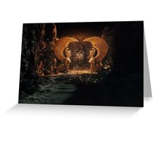 The NeverEnding Story - Sphinxes Gate Dots Greeting Card