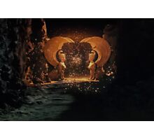 The NeverEnding Story - Sphinxes Gate Dots Photographic Print