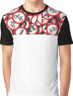 traffic signs Graphic T-Shirt