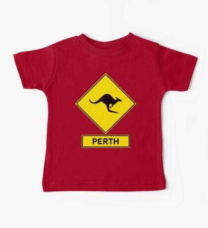 Perth, Western Australia - Kangaroos Gone Wild Baby Tee