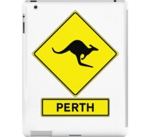 Perth, Western Australia - Kangaroos Gone Wild iPad Case/Skin