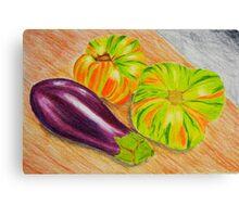 Vibrant Vegetable Still Life Canvas Print