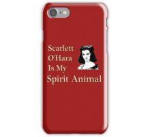 Scarlett O'Hara is my Spirit Animal iPhone Case/Skin