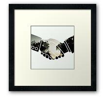 Hands Of Nature Most Popular T Shirt Framed Print