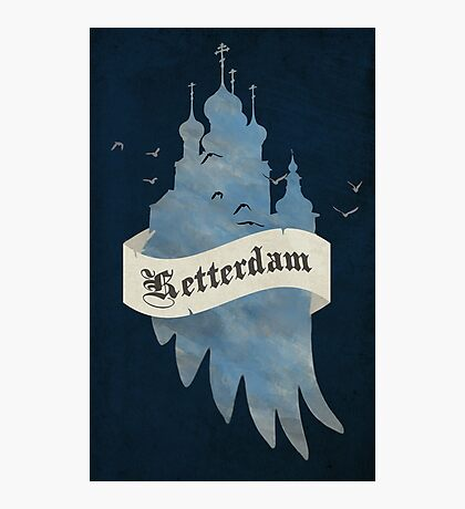 Ketterdam from Six of Crows Photographic Print