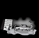 Retro Zombie Garage  by Diana-Lee Saville