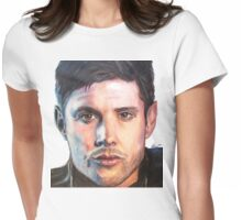 Dean Winchester/ Jensen Ackles Coloured Pencil Womens Fitted T-Shirt