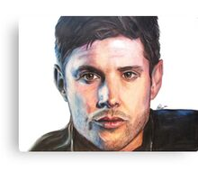 Dean Winchester/ Jensen Ackles Coloured Pencil Canvas Print