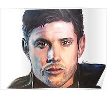 Dean Winchester/ Jensen Ackles Coloured Pencil Poster