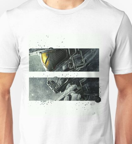 Halo Master Chief Art T-Shirt Illusions Most Popular Unisex T-Shirt