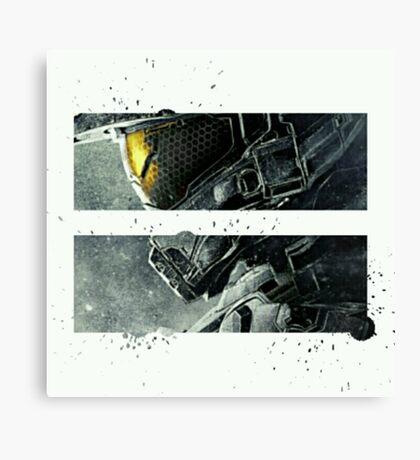 Halo Master Chief Art T-Shirt Illusions Most Popular Canvas Print