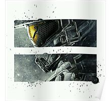 Halo Master Chief Art T-Shirt Illusions Most Popular Poster