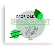 Spearowmint Gum Canvas Print
