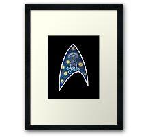 Star Trek Van Gogh  Framed Print